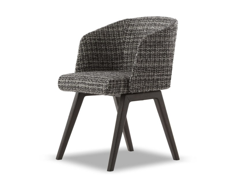 Sedia CREED LITTLE ARMCHAIR by Minotti