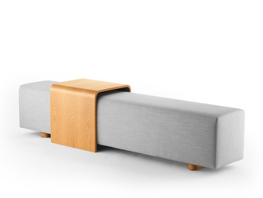 Fabric bench seating CREW 99 by rosconi