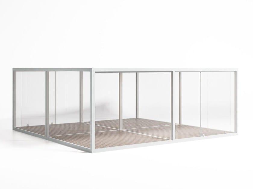 Pergola / conservatory CRISTAL BOX 4 by GANDIA BLASCO