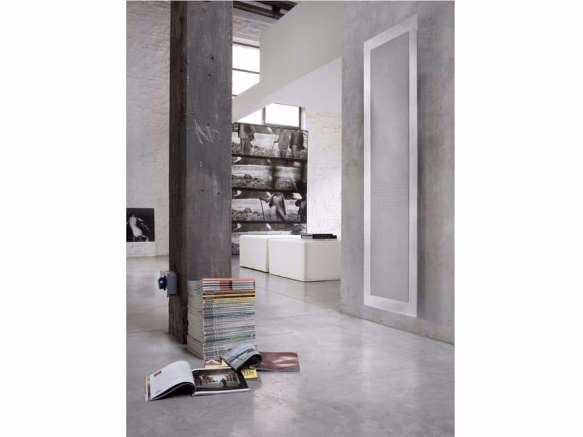 Wall-mounted aluminium radiator CROK by RIDEA