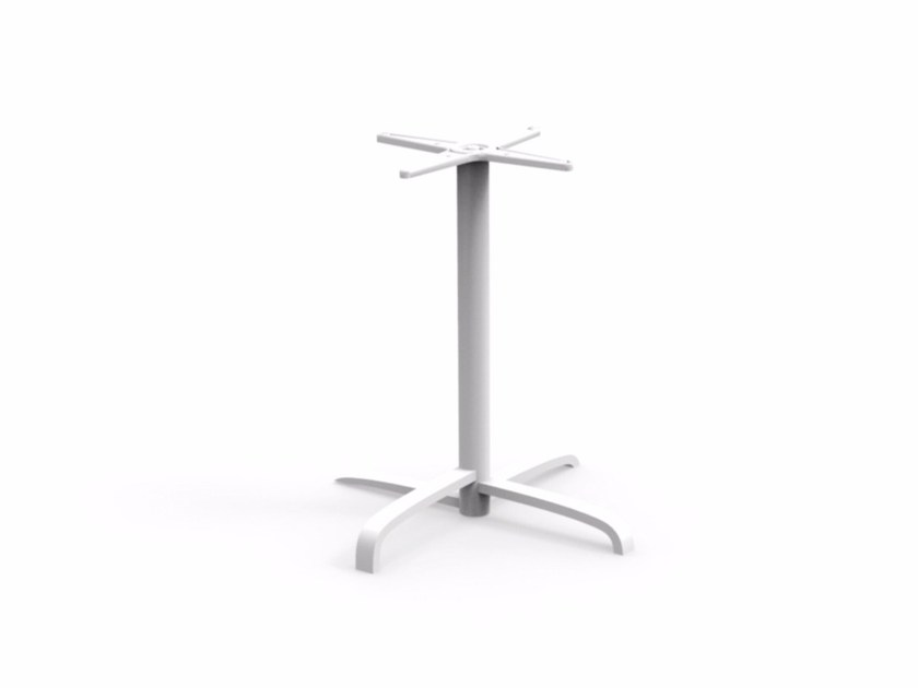 Table base with 4-spoke base CROSS | Table base - Talenti
