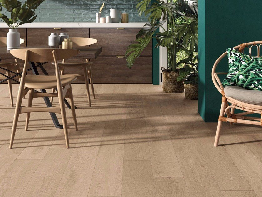 Porcelain stoneware wall/floor tiles CROSSROAD WOOD by ABK