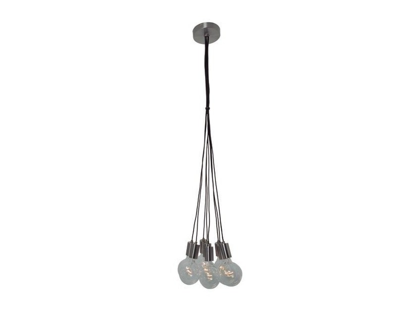 Metal pendant lamp CROW 8 - Aromas del Campo