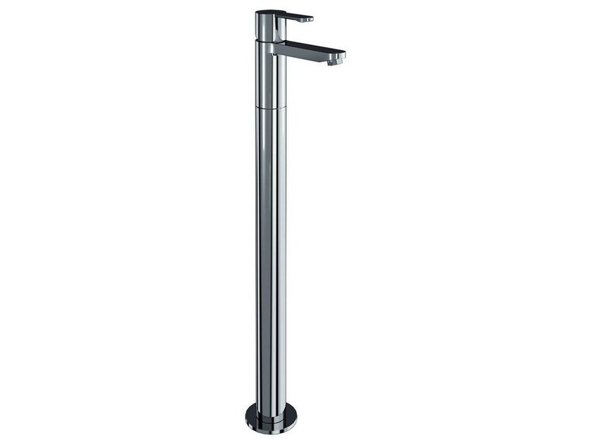 Floor standing single handle bathtub mixer CRYSTAL | Floor standing bathtub mixer - Polo