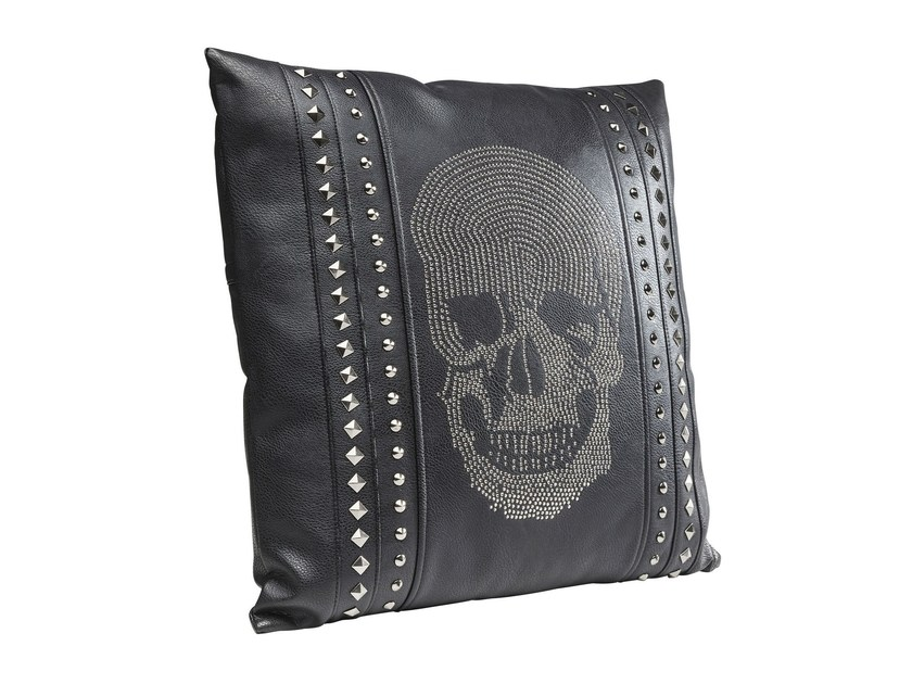 Rectangular cushion CRYSTAL SKULL 45x45 - KARE-DESIGN