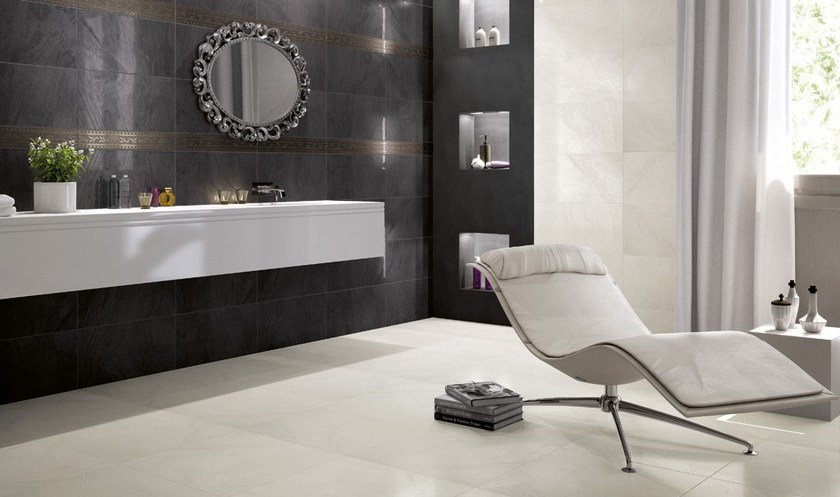 Wall/floor tiles CRYSTALL NERO - CERAMICA FONDOVALLE