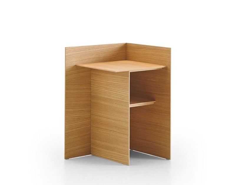 Wooden bedside table CUATRO - Punt