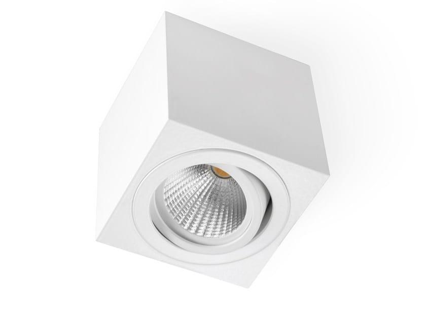 Lampada da soffitto a LED in alluminio CUBE by LED BCN