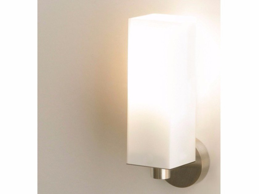 Glass wall light CUBE ONE - Top Light