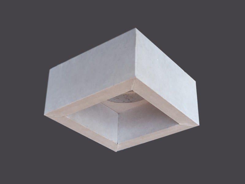Spotlight housing in plasterboard SINGLE LED CUBES 90° - Gyps