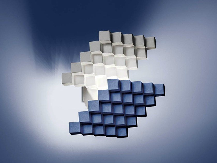 LED wall lamp CUBISMO CORTA - Cini&Nils