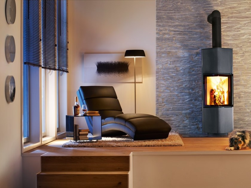 Wood-burning stove CUBO L by SPARTHERM
