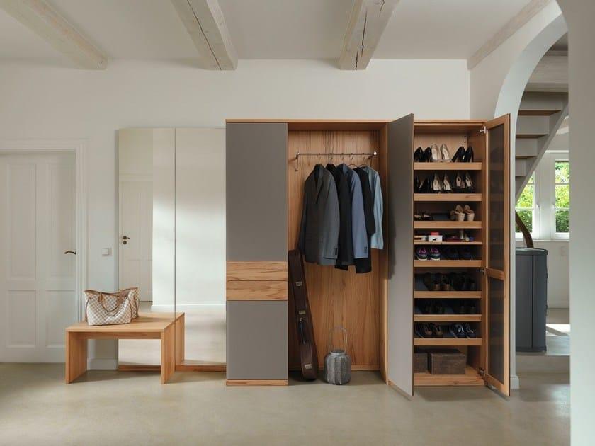 Free standing wooden hallway unit CUBUS | Hallway unit - TEAM 7 Natürlich Wohnen