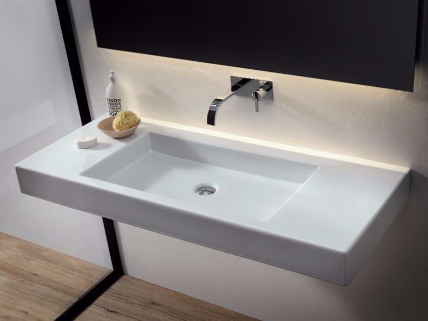 Rectangular ceramic washbasin CULT   Rectangular washbasin by Nic Design
