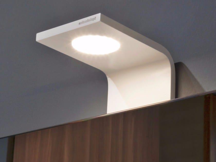 LED bathroom wall lamp CURVA - Antonio Lupi Design®