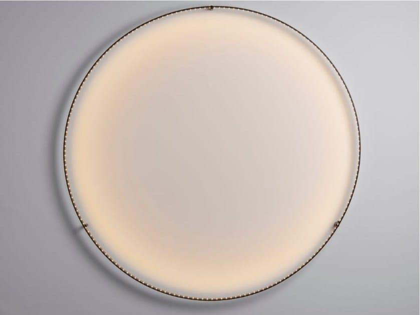 LED direct-indirect light wall lamp CURVE 120 - Le Deun Luminaires