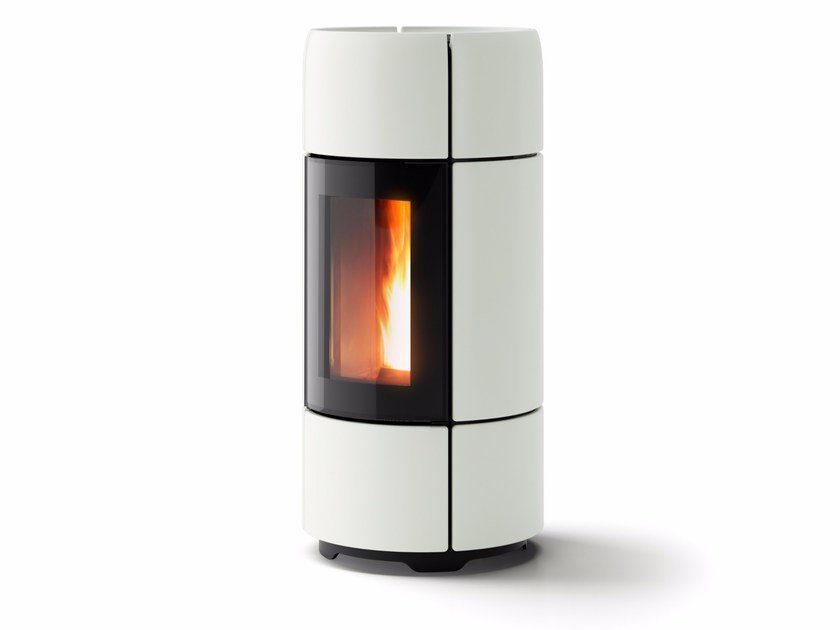 Pellet ceramic stove CURVE - MCZ GROUP