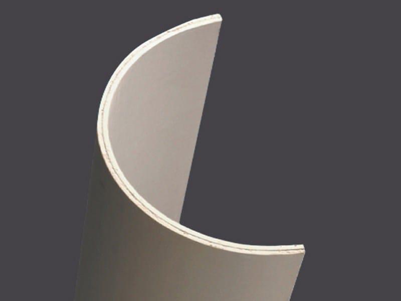 Profiles in plasterboard for columns 2 ml CURVOGIPS HALF-COLUMNS 1,20 ML - Gyps