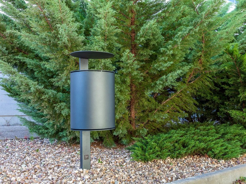 Outdoor iron waste bin CY - SIT