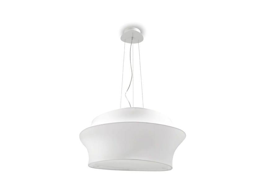 Adjustable fabric pendant lamp CYGNUS | Pendant lamp - Calligaris