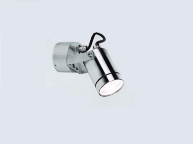 Adjustable stainless steel Outdoor floodlight CYLINDER B by BEL-LIGHTING