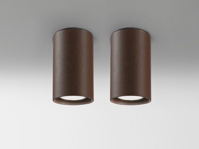 LED metal ceiling lamp CYLINDER   Ceiling lamp - Olev by CLM Illuminazione