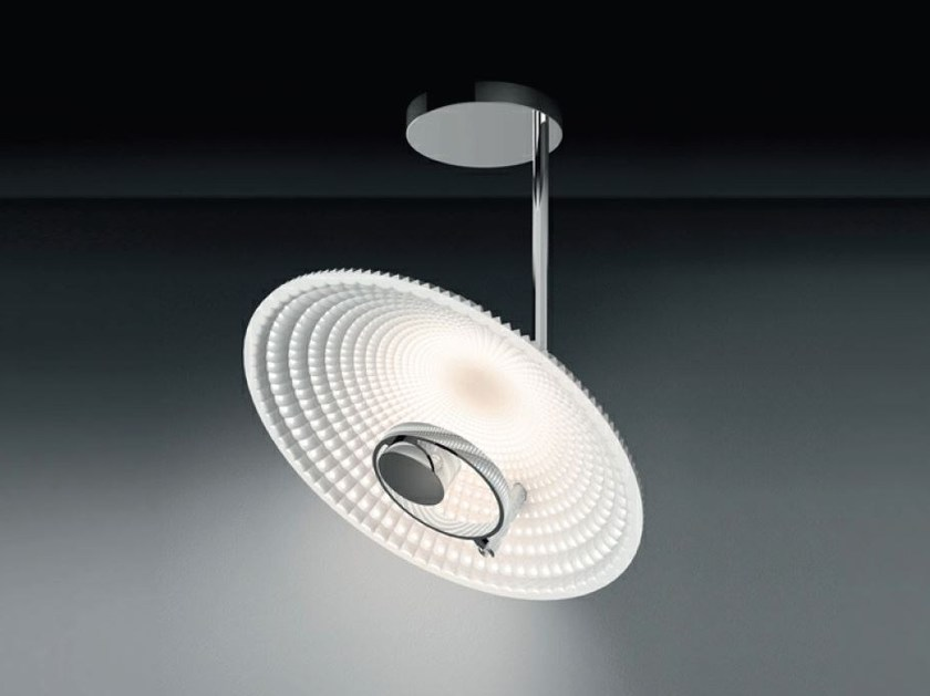 LED indirect light methacrylate ceiling lamp TRIX | Ceiling lamp by Artemide