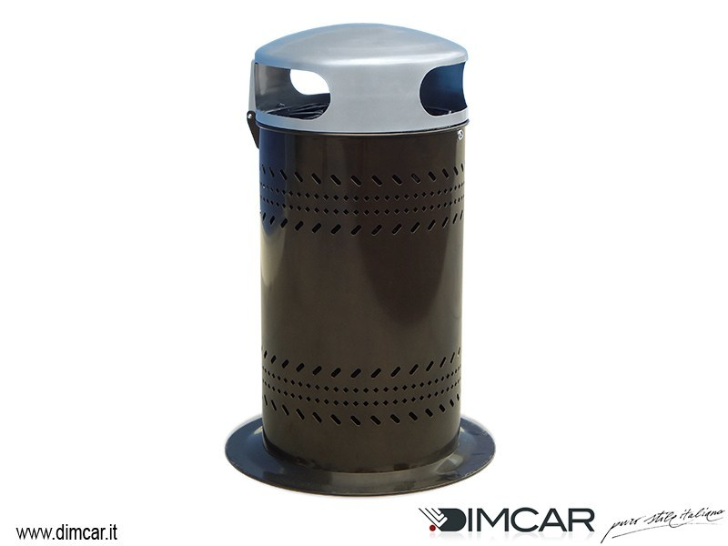 Waste bin with lid Cestone Damasco - DIMCAR