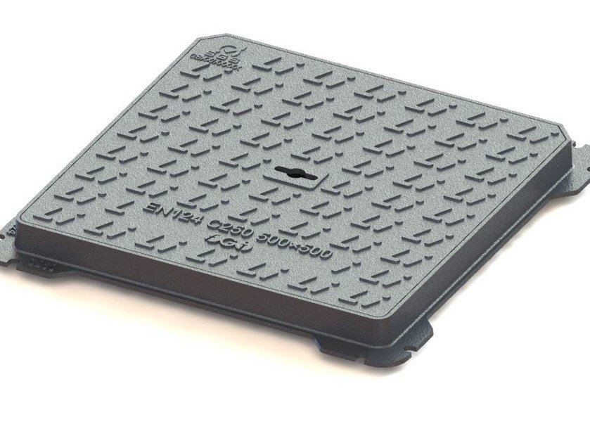 Manhole cover and grille for plumbing and drainage system C250 - LINK industries