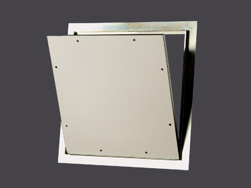 Steel Hatch doors for Plasterboard with click opening STEEL CLICK CLACK STEEL HATCHES - Gyps