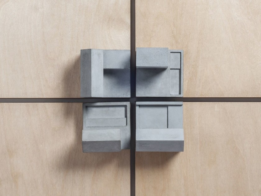 Concrete Furniture knob / architectural model Community #2 by mim studio