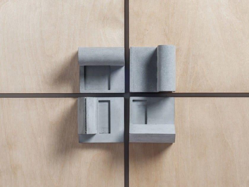 Pomello per mobili / modellino architettonico in calcestruzzo Community #4 - Material Immaterial studio