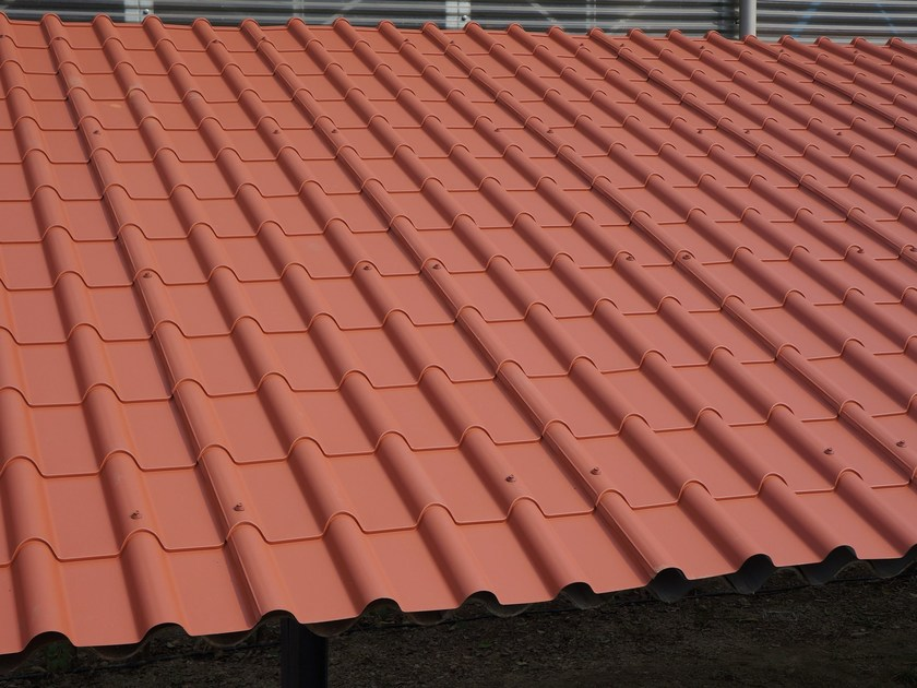 Metal sheet and panel for roof COPPO ROMA - Alubel