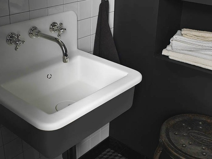 Lavabo in corian corian energy dupont protection solutions - Lavabos de corian ...