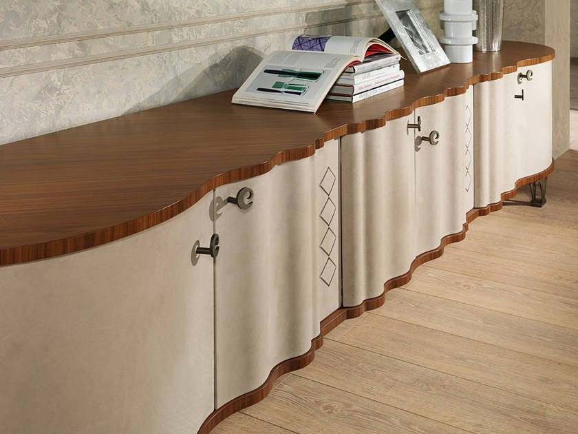 Contemporary style wooden sideboard with doors MISTRAL | Sideboard with doors by Carpanelli Contemporary