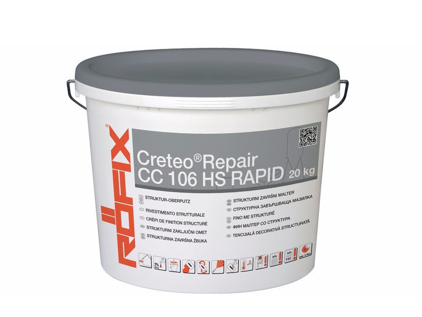 Mortar and grout for renovation Creteo®Repair CC 106 rapid - RÖFIX