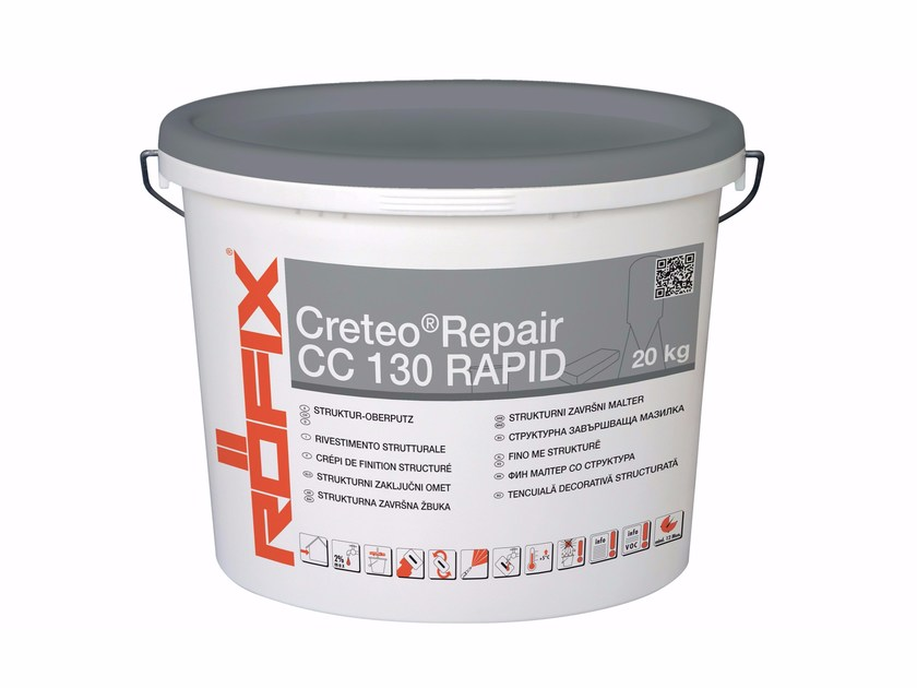 Mortar and grout for renovation Creteo®Repair CC 130 rapid - RÖFIX