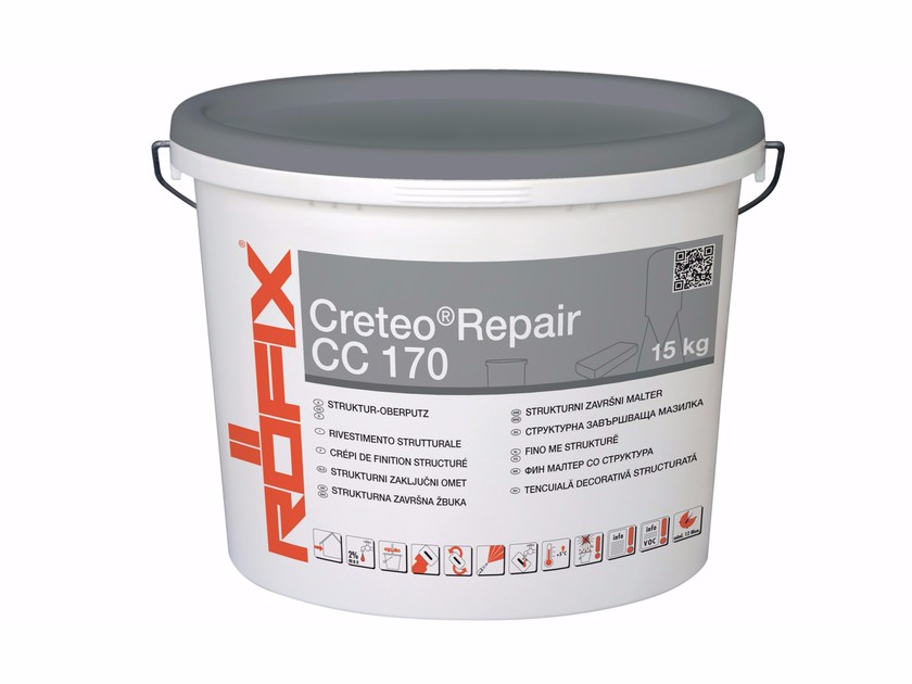 Mortar and grout for renovation Creteo®Repair CC 170 - RÖFIX