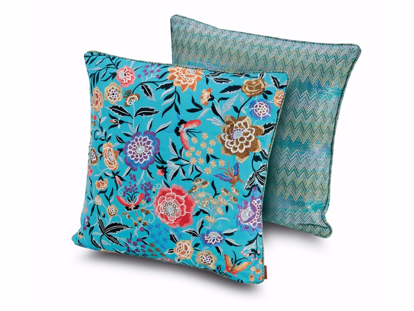 Square fabric cushion SIERRE SAUSALITO by MissoniHome