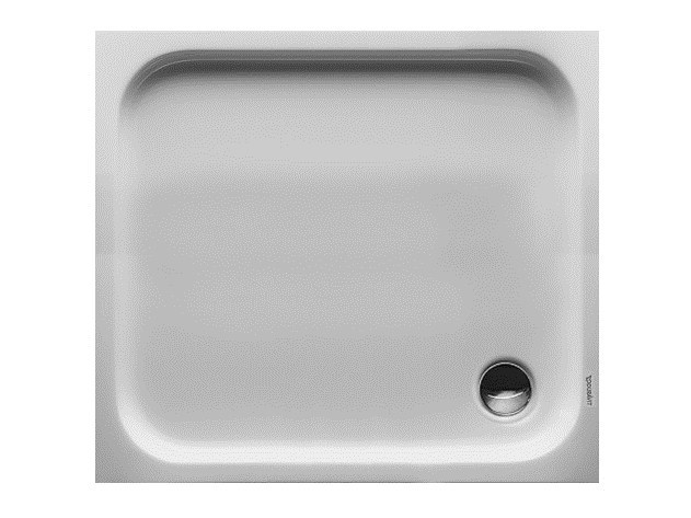 Rectangular acrylic shower tray D-CODE | 100 x 90 - DURAVIT