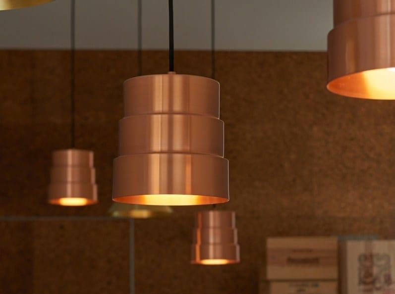 Lampada a sospensione a LED in metallo D.INÊS - Exporlux