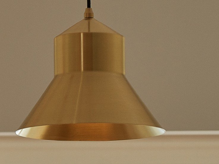 Direct light metal pendant lamp D.PEDRO - Exporlux