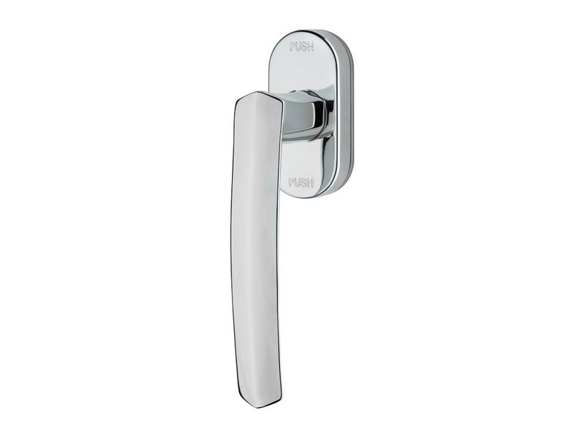 Anti-intrusion DK brass window handle DAFNE | Anti-intrusion window handle - LINEA CALI'