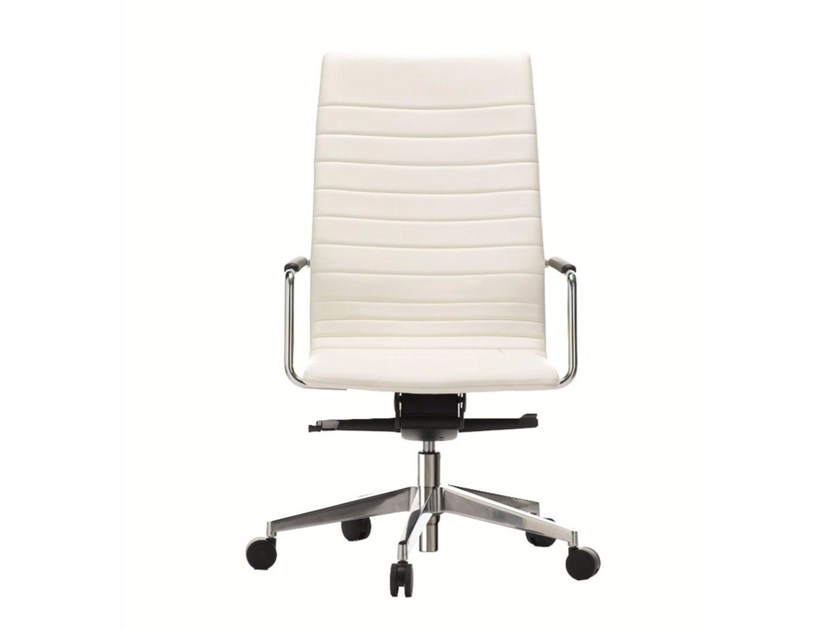 High-back executive chair DAHLIA | Executive chair - Quadrifoglio Sistemi d'Arredo