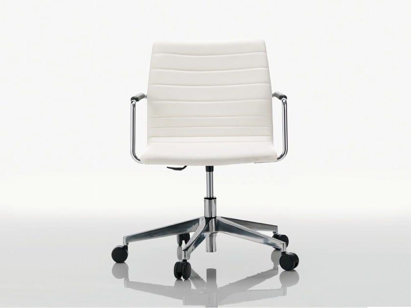 Low back executive chair DAHLIA | Executive chair - Quadrifoglio Sistemi d'Arredo
