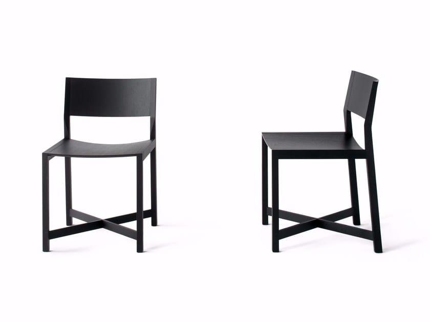 Solid wood chair DAIKU by Lema