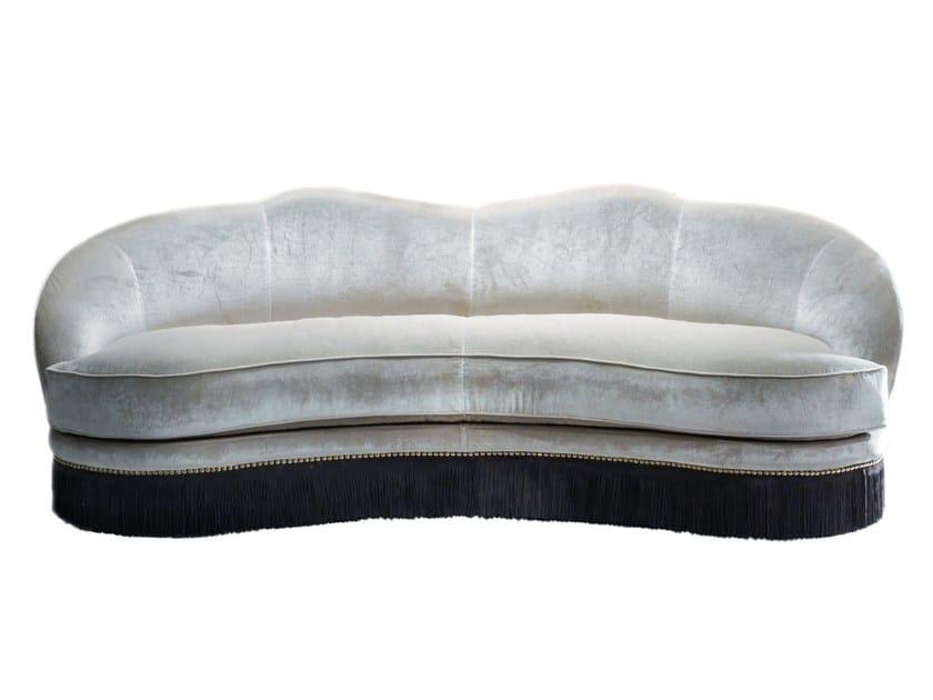 3 seater fabric sofa DAISY by Longhi