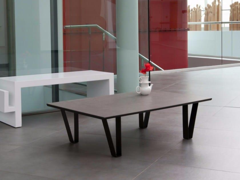 Low rectangular coffee table DALÌ - Discalsa