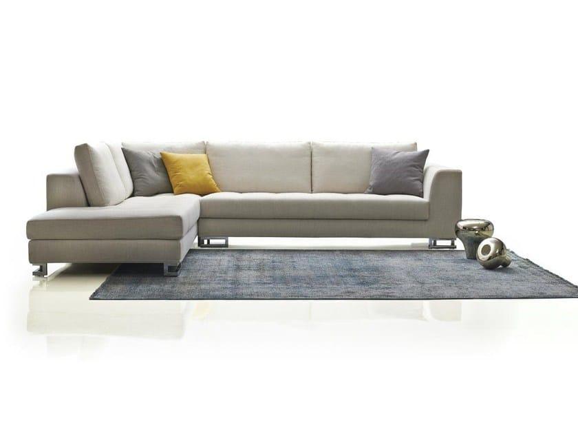 Corner fabric sofa DALI by Papadatos