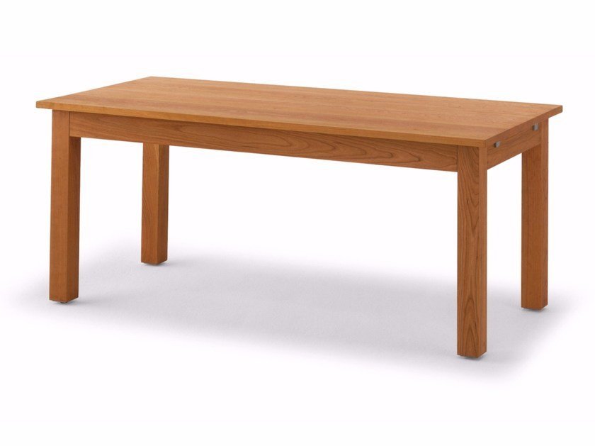 Extending rectangular solid wood table DALLAS - Riva 1920